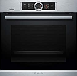 Bosch HRG636XS6 Series 8 Oven-Hob Combination / A / 71L / Rapid Heating / PerfectRoast & PerfectBake / Stainless Steel