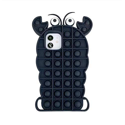 Funny Cactus Case - Funda para iPhone 6 / iPhone 6s para aliviar el estrés Push It Fidget Toys It Bubble para niños adultos, regalos divertidos para todas las edades