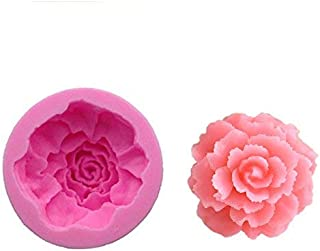 Carnation Fondant Cupcake Decor Sugarcraft Mould DIY Chocolate Candy Jello Molds Cake Baking Tools Cookie Biscuits Moulds