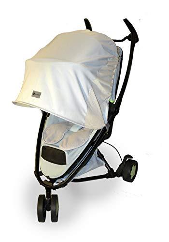 Sonnenschutz/Regenschutz/Windschutz für Kinderwagen und Buggy, Farbe: FROST MINT