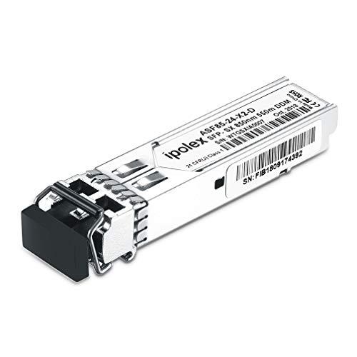 Ipolex 1G Modulo SFP, 1000Base-SX SFP Multimodale Mini-GBIC LC Transceiver per HP J4858A/J4858B/J4858C, MMF, 850nm, 550m
