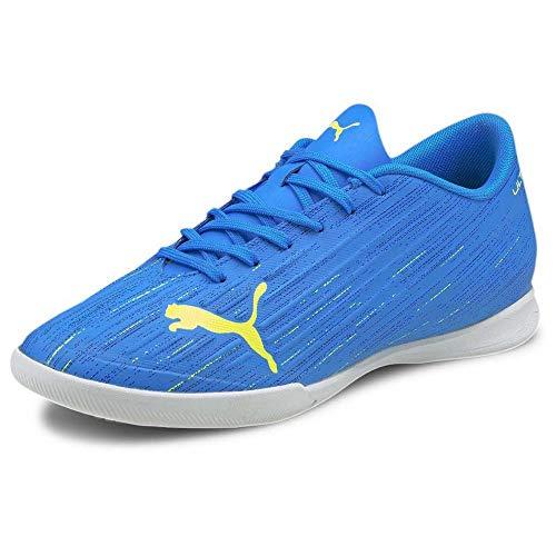 Puma Ultra 4.2 IT, Zapatillas de Futsal para Hombre, Nrgy Blue Yellow Alerta, 46 EU
