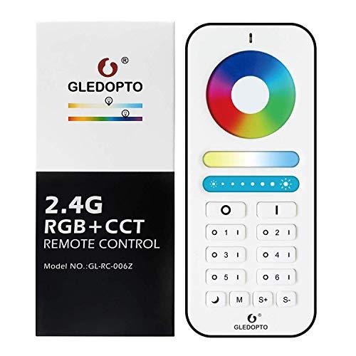 Télécommande RF Gledopto Plus 2.4G - Compatible uniquement avec les ampoules Gledopto Plus