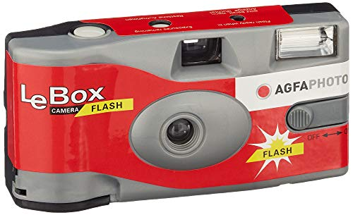Agfa LeBox 400-27 Flash Einwegkamera