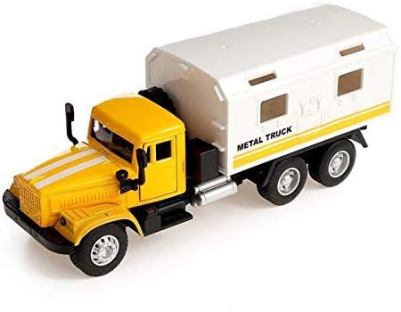 Russian 新色追加 Soviet Truck 現品 KrAZ 255B KUNG Diecast Model Metal Toy - Ca