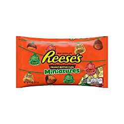 REESE'S Peanut Butter Cups Miniatures, 11 Ounce