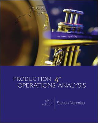 Production and Operations Analysis (McGraw-Hill/Irwin Series Operations and Decision Sciences)