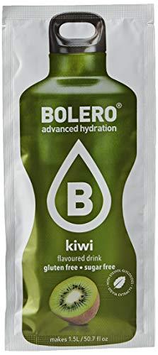 Bolero Bebida Instantánea Sin Azúcar, Sabor Kiwi - Paquete de 24 x 9 gramos - Total 216 gramos