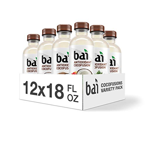 Bai Coconut Flavored Water Cocofusions Variety Pack 12 Count Now $10.40 (Was $16)