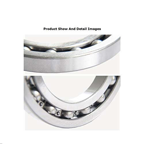 BAIJIAXIUSHANG Bearings 16014 Open Bearings 70x110x13mm for 3D Ciclop Scanner Printer Ball Bearings (1 PC)