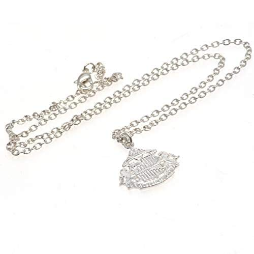 Sunderland A.F.C. Silver Plated Pendant & Chain