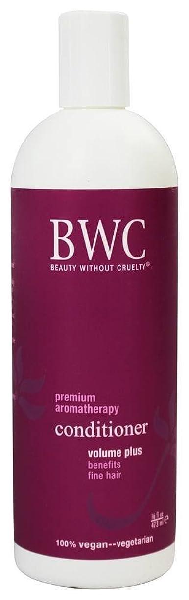湖悔い改める章Beauty Without Cruelty - コンディショナー ボリュームに加えて、からまる髪に - 16ポンド [並行輸入品]