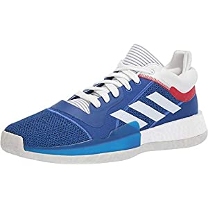 adidas Men's Marquee Boost Low, Collegiate Royal/Crystal White/Blue, 14 M US