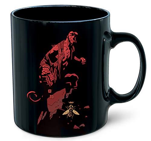 Witcher-25th Aniversario Hellboy Taza, Multicolor (Dark Horse Comics 3004-538)