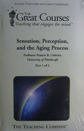 Sensation, Perception and the Aging Process (Audio CD)
