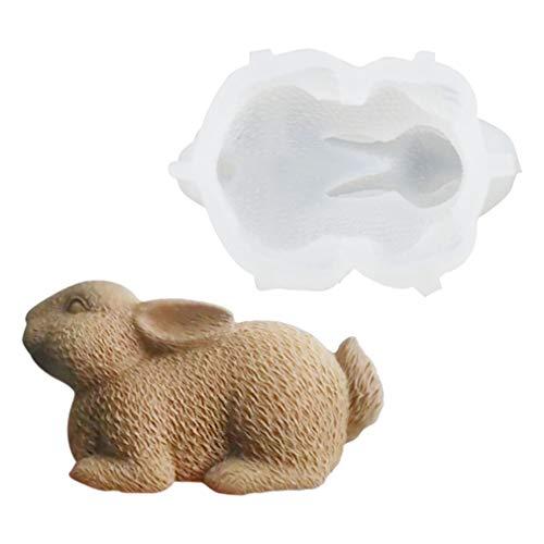 3D Ostern Kaninchen Silikon Backform Muffins Mini Schokoladeneier Easter Silicone Cake Mold Seifenform Backen Eiswürfelschale