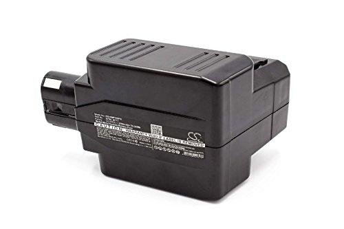 vhbw NiMH Akku 3300mAh (24V) für Elektrowerkzeug Werkzeug Powertools Tools wie Hilti BP72