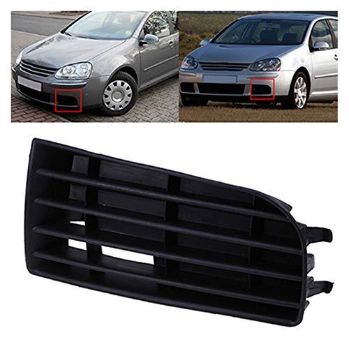 Parachoques Delantero del Coche Parrilla Inferior para VW Golf MK5 2004 2005 2006 2007 2008 2009 Accesorios de reemplazo del Lado de Auto (Color : 1 Pc Left)