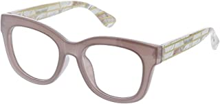 Peepers Women's Center Stage Luxe Reading Glasses, 51.6 mm, Gray/Marble