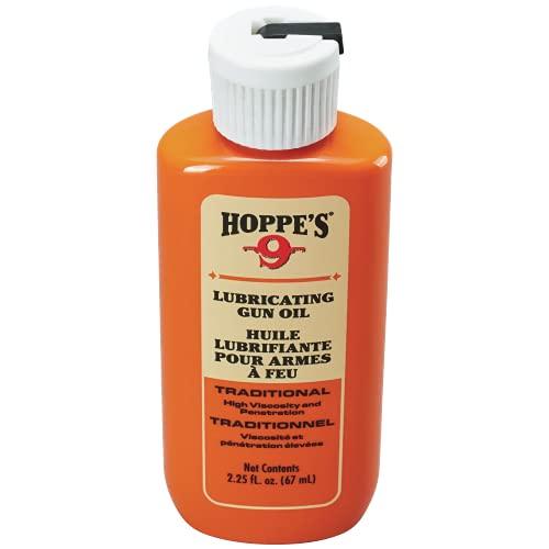 HOPPE'S No. 9 Lubricating Oil, 2.25 oz. Bottle