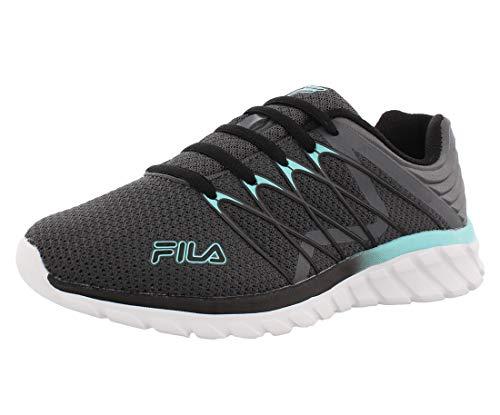 Fila Memory-Shadow-Sprinter-4 - Zapatillas de deporte para mujer, gris (Castlerock/Negro/Arbl), 40 EU