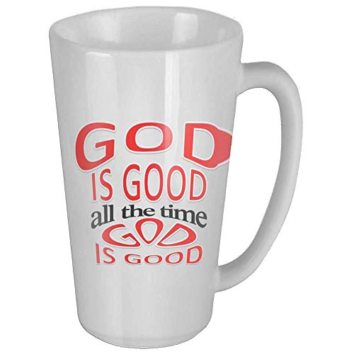God Is Good All The Time Funny Coffee Mug Cool Coffee Tea Cup 17 Ounces Perfect Gift for Family and Friend