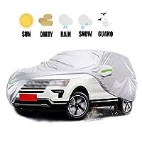 車カバー カーカバー Car Cover 車のカバー - 厚くするオックスフォード布 - 防水スノーカバー全天候用湿気からの保護します。雪の霜の腐食塵屋外のUV保護フィットSUV専用 ップ四季対応 (Color : 2012)