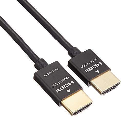 BUFFALO HDMIケーブル スリムタイプ 3.0m BSHD3S30BK