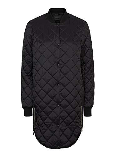 VERO MODA Womens VMHAYLE SS20 3/4 NOOS Quilted Jacket, Black, S