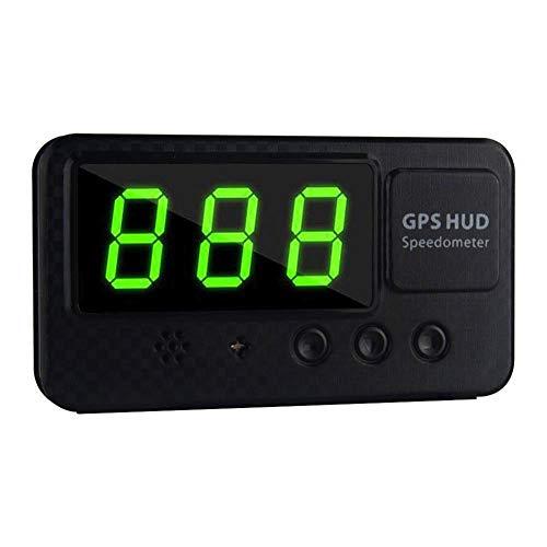 runnerequipment Geschwindigkeitsanzeige km/h MPH Digital Auto GPS Tachometer für Auto Fahrrad Motorrad
