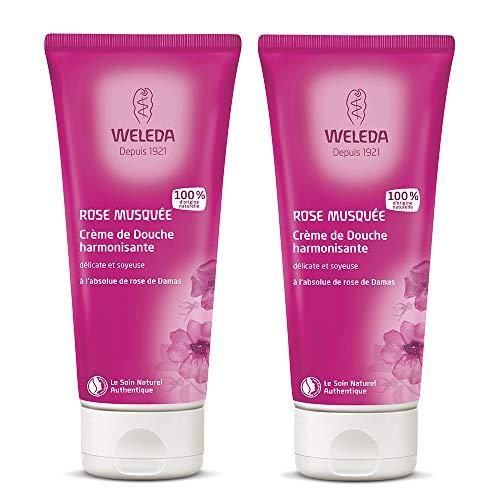 Weleda Wild Rose Creamy Body Wash 2 x 200ml