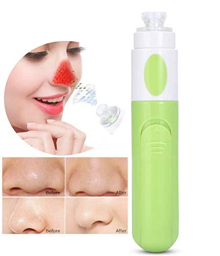 Vacuüm mee-eter verwijderaar, poriënreiniger mee-eter verwijderen vacuüm cup acne puistje reiniger gezichtsverzorging (groen)