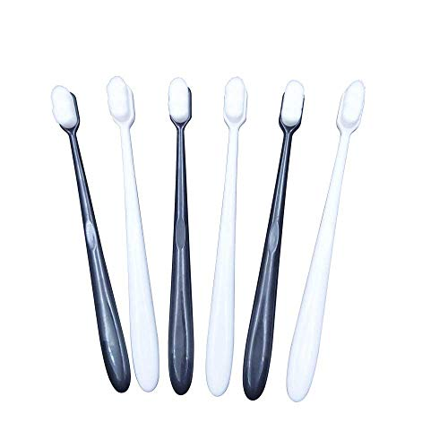 12000 Micro-Nano Hairy Bristles Toothbrush Ergonomic Handle Dental Oral Care Teeth Cleaning for Sensitive Teeth and Pregnant Woman Postpartum