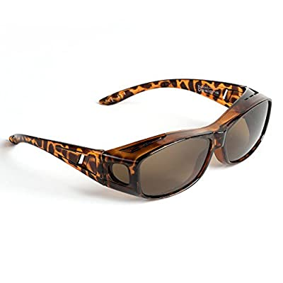 0d513d363b These fitover sunglasses have polarized lenses to eliminates glare