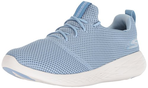 Skechers Performance Women's GO Run 600-15076 Sneaker,blue,9 M US
