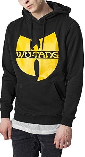 Wu Wear Herren Logo Hoody Hoodie, Black, M