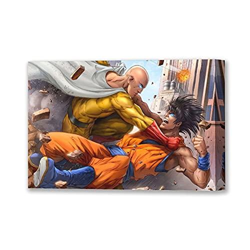 NCCDY Anime Poster One Punch Man Posters for room estético 08 × 12 pulgadas (20 × 30 cm)