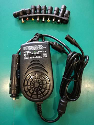 NL Universal-Stromverteiler, Switching für Laptop, 150 Watt, Ausgang 15-24 Volt für Auto (Eingang 12 Volt)