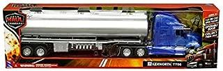 New DIECAST Toys CAR New RAY 1:32 Long HAUL Trucker - Kenworth T700 Oil Tanker (Blue/Chrome) 12223E
