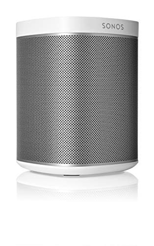 Sonos Play:1 Compact Wireless Speaker for Streaming Music. Compatible with Alexa. (White) (Renewed)