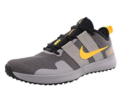 Nike Men's Varsity Compete TR 2 Training Sneakers (10.5, Atmosphere Grey/Laser ORA)