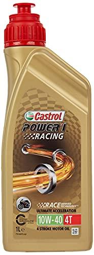 Castrol 14E94A Olio Castrol Power Racing 4t 10w-40 1l Lubrificante moto