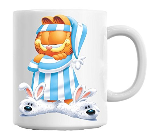 Garfield In Pajama Mug Cup