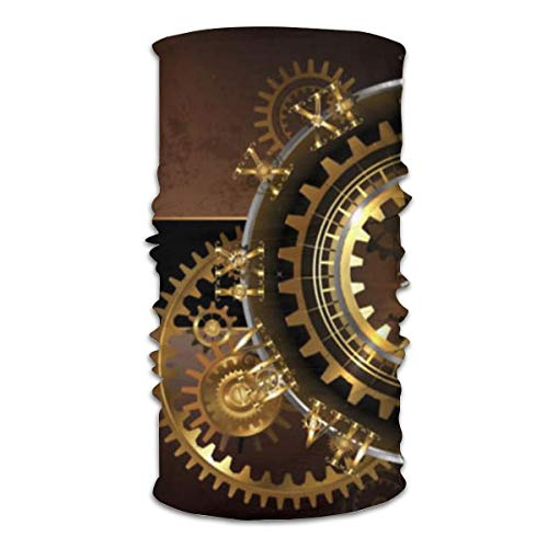 Relojes Steampunk antiguos, engranajes de latón dorado, tap