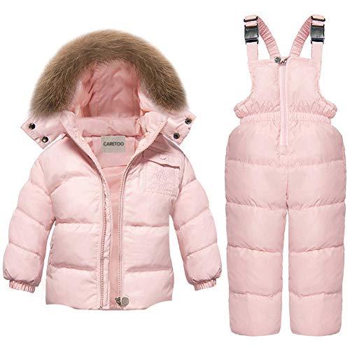 CARETOO Baby Boys Girls Winter Down Coats Snowsuit Outerwear...