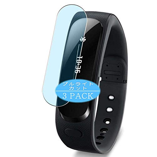 VacFun 3 Piezas Filtro Luz Azul Protector de Pantalla, compatible con Huawei TalkBand B1 smartwatch Smart Watch, Screen Protector Película Protectora(Not Cristal Templado) NEW Version