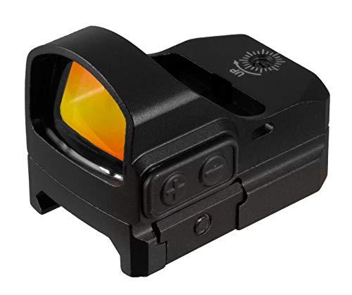 TRUGLO TRU-TEC Micro Red Dot Sight Open Reflex Optic for...