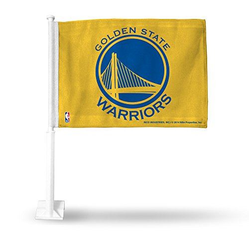 Rico Industries NBA Golden State Warriors Car Flag