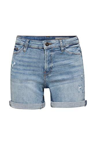edc by Esprit 990CC1C301 Shorts, Damen, Blau 29 EU