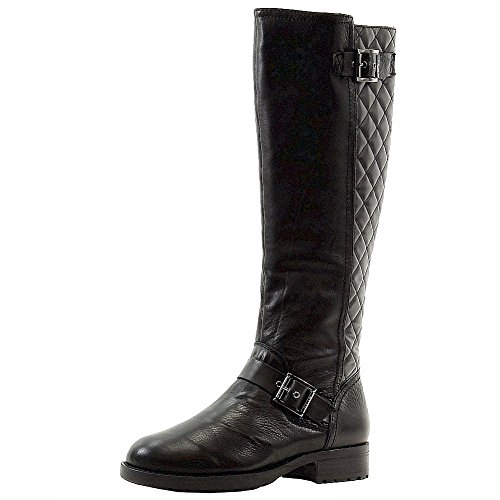 DKNY Donna Karan Women's Nadia Black Fashion Knee-High Boots Shoes Sz: 7.5